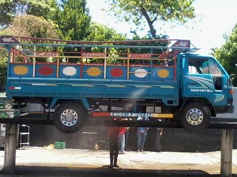 Camión Daihatsu robado