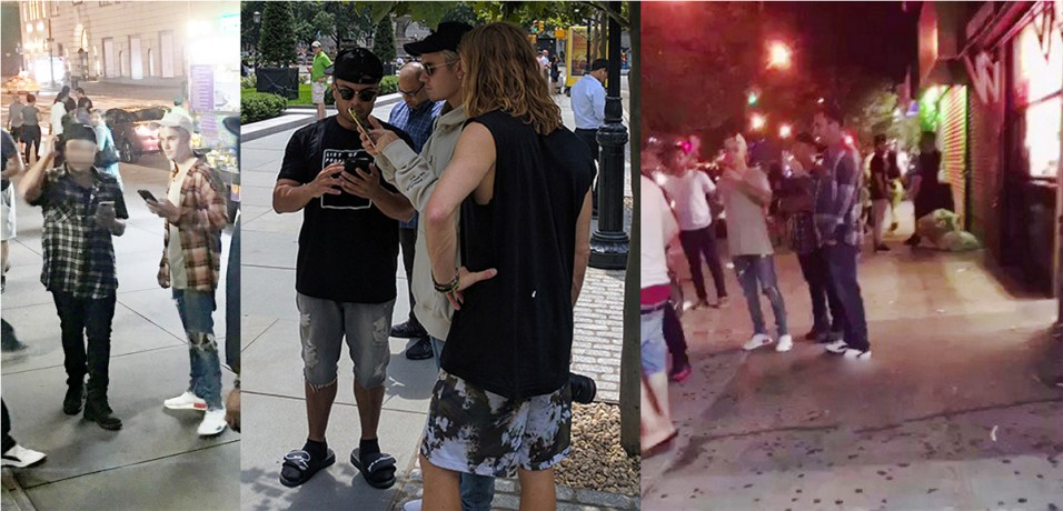 Justin Bieber causa furor en calles del Alto Manhattan