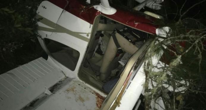accidente avioneta