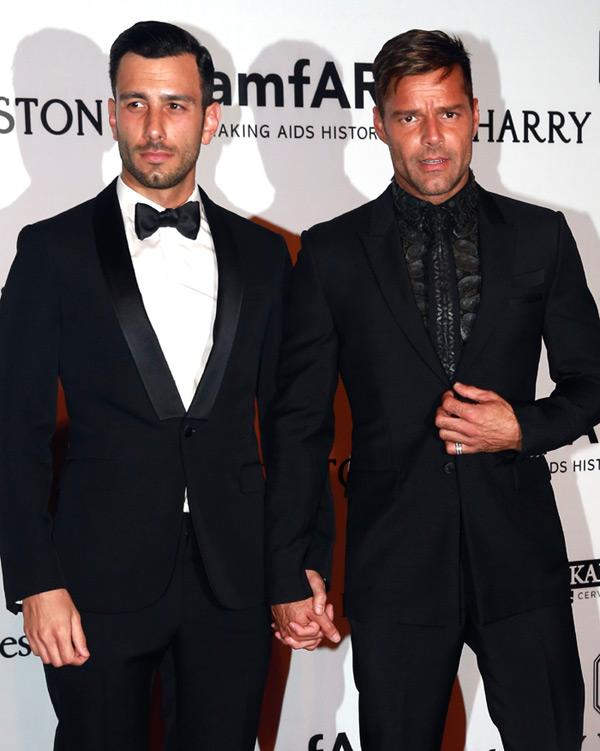 Ricky Martin y Jwan Yos