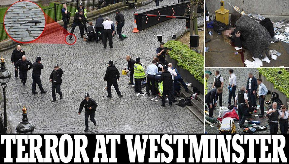 Terror en Parlamento británico