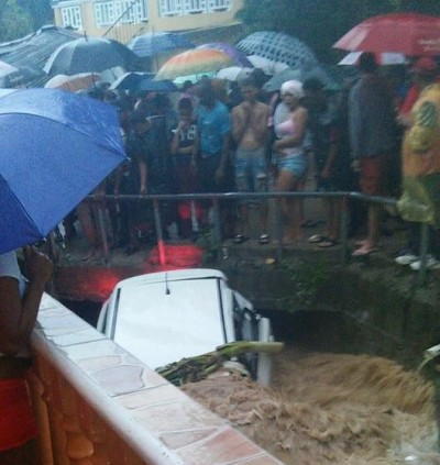 Jeepeta inundada