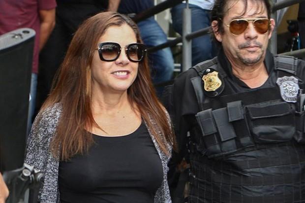 Mónica Moura, esposa del publicista Joao Santana